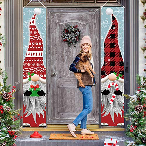 ORIENTAL CHERRY Outdoor Christmas Decorations - Gnomes Porch