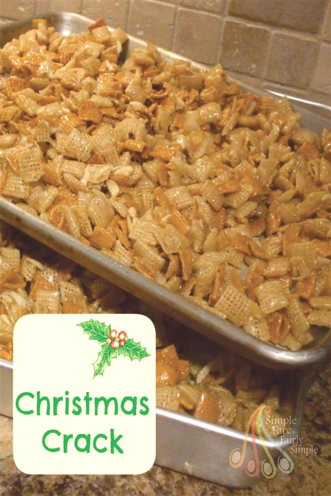Simple Fare, Fairly Simple Christmas Crack