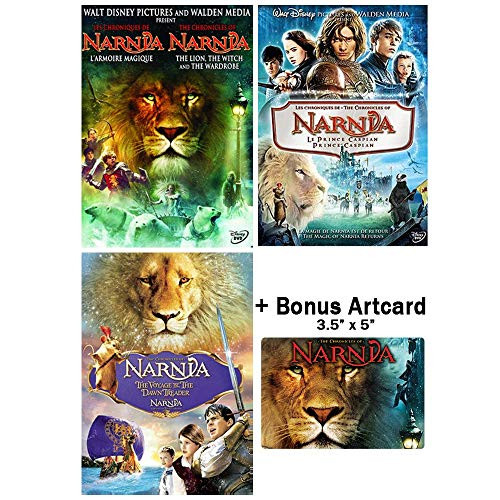 The Chronicles of Narnia Complete Movie Trilogy DVD