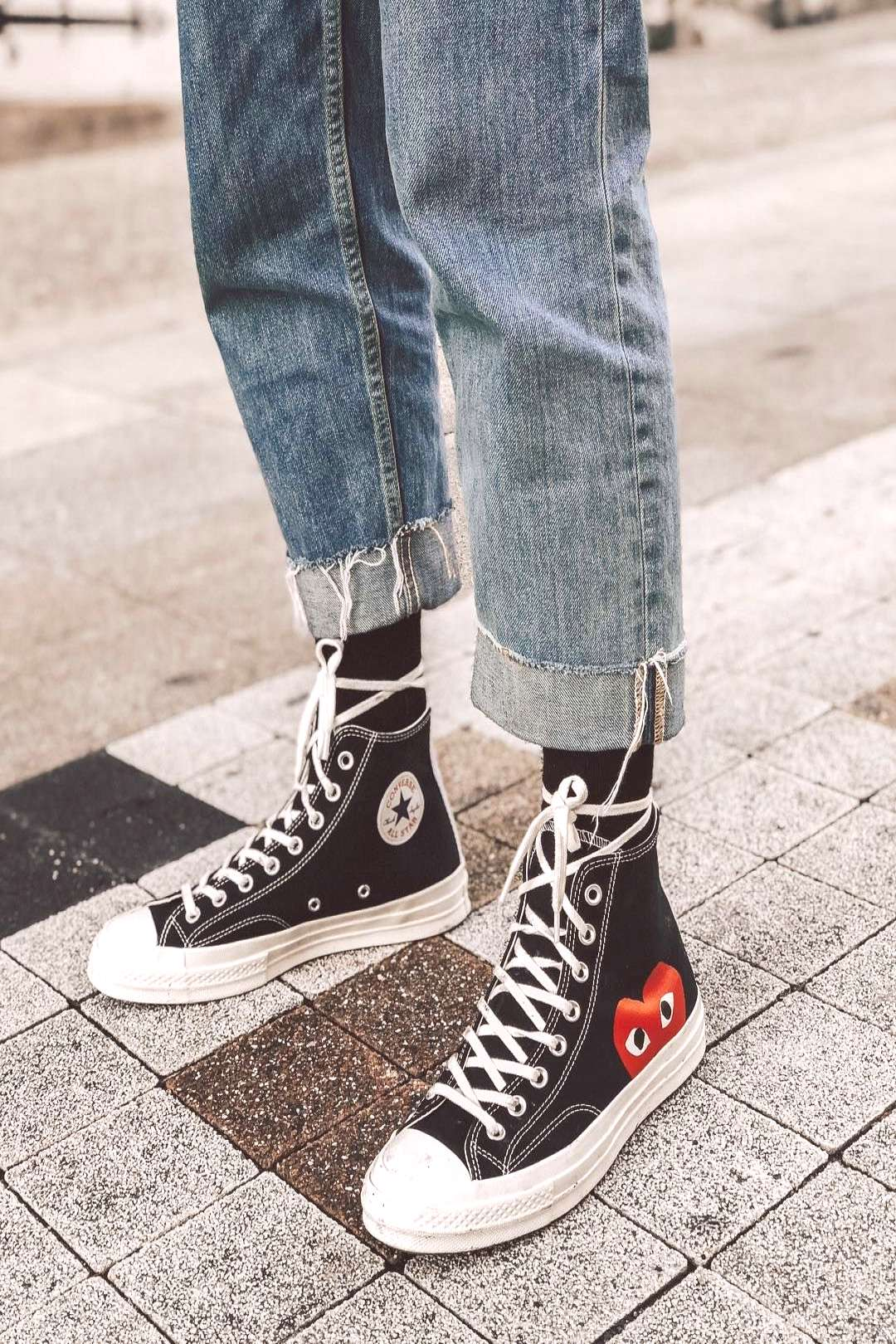The Chuck Taylor x CDG Play!
