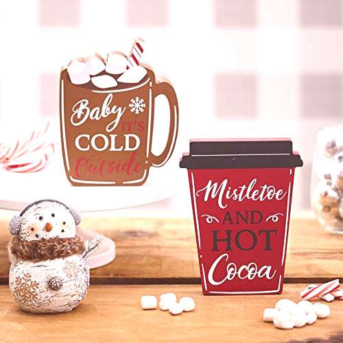 The Lakeside Collection Warm Winter Season Drinks Tabletop