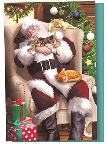 Tree-Free Greetings Christmas Cards and Envelopes, Set of