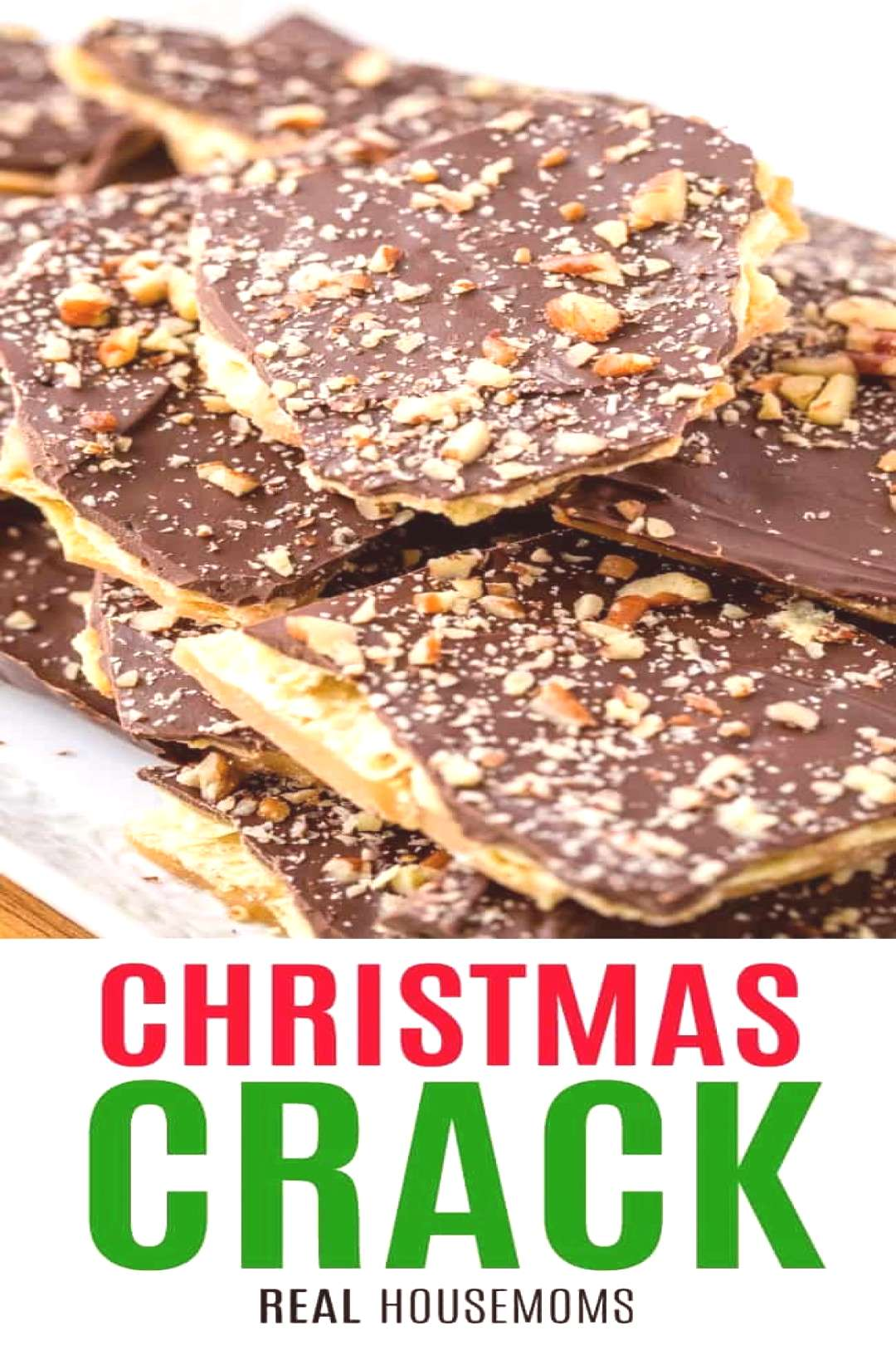 What better way to bring in the holidays than with this perfectly easy, fun and flavorful Christmas